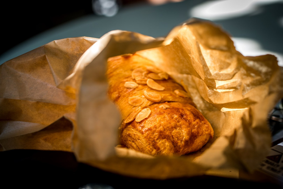 Pastry in a Paper Bag