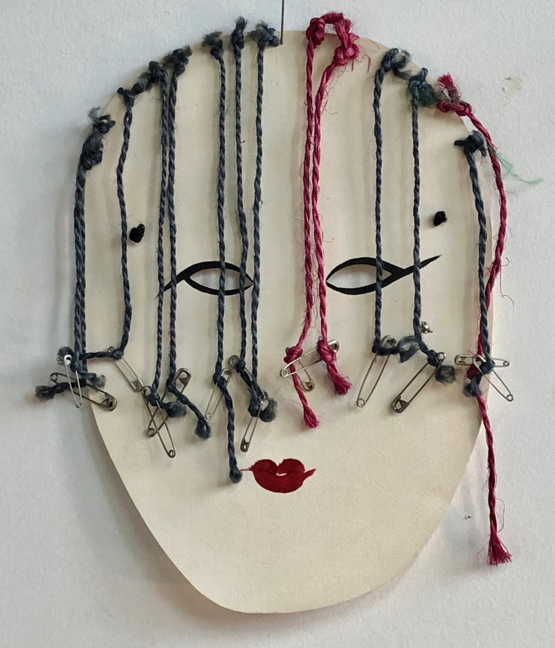 Pretty girl mask, 1992