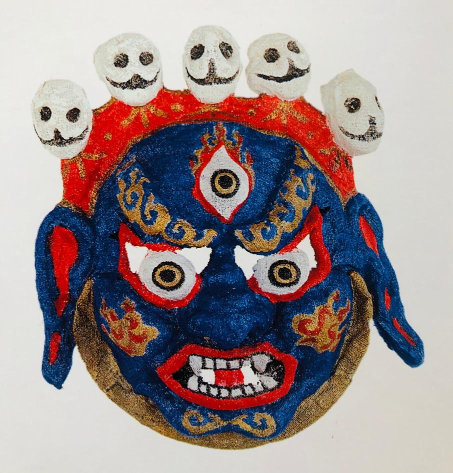 Mahakala mask, 1997