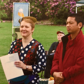 HeeHee with Acharya Tashi, 2007