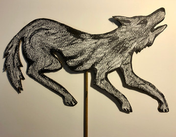 Wolf puppet, 2004