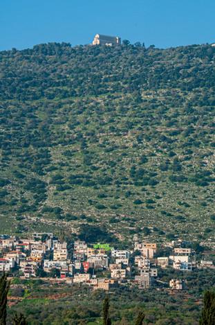 Daburiyya Village and Monasery on Mount