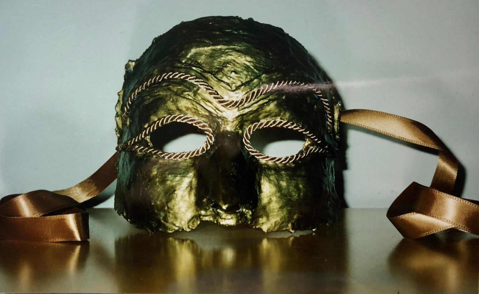 Golden raven mask, 1998