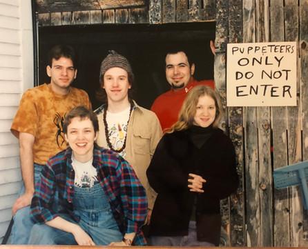Bread & Puppet internship, 1995