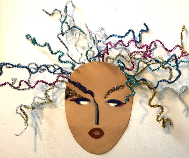 Tangled woman mask, 1992