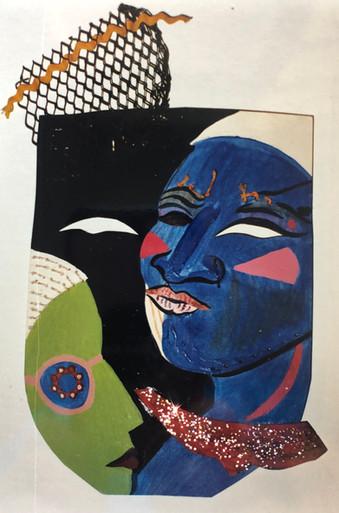 Clubbing mask, 1992