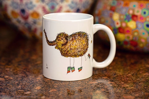 Happy Elephant Mug