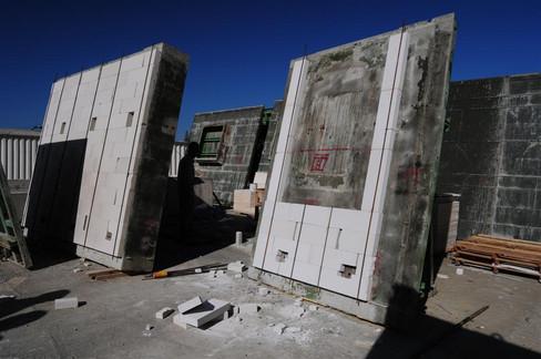 Concrete Panels Dry - ייבוש פנלים  מבטון