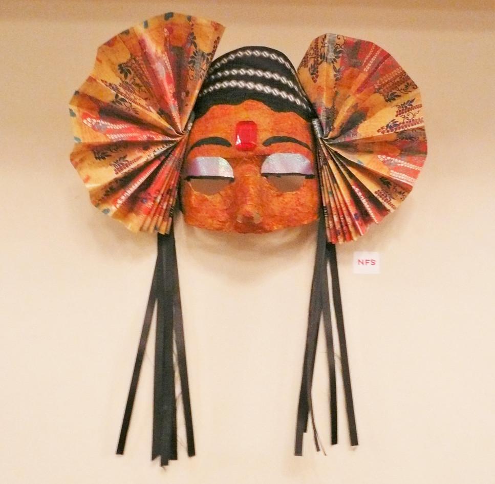 Dakini mask, 1997