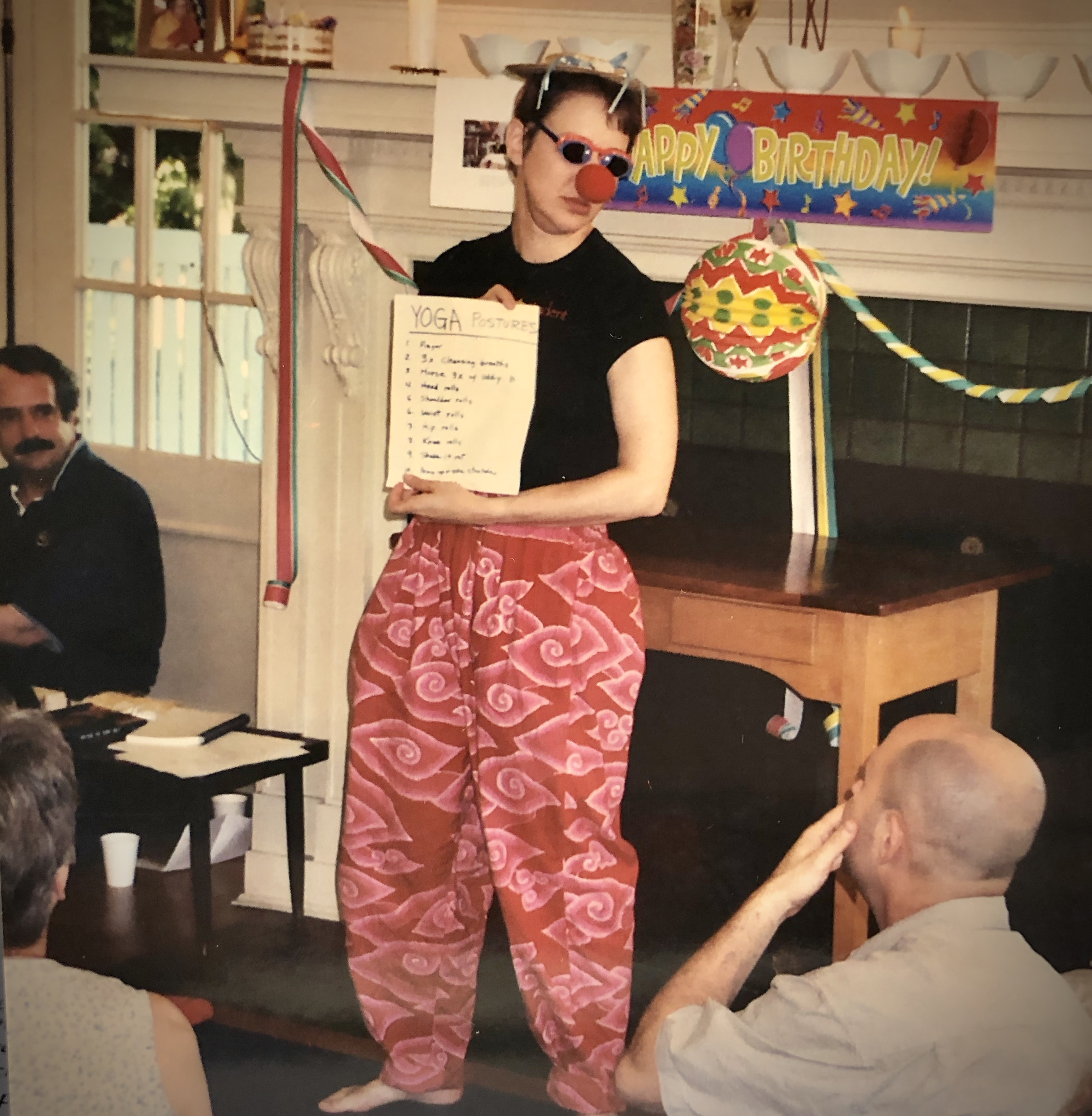 MeeMee HeeHee yoga routine, 2002