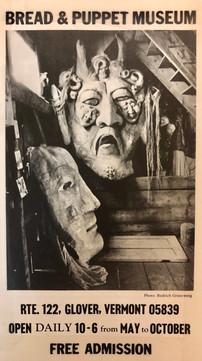 Bread & Puppet museum, 1995