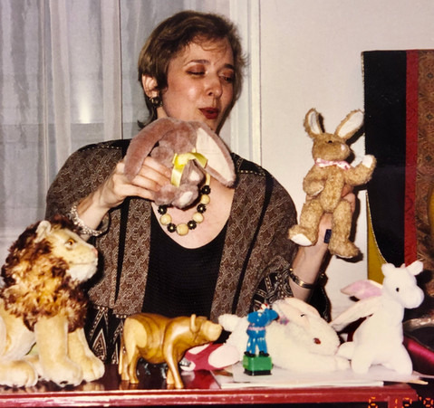 Jataka Tales storytelling, circa 1985