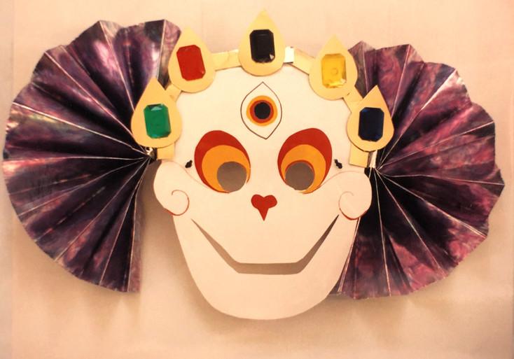 Cittapatti skeleton mask for child, 1997