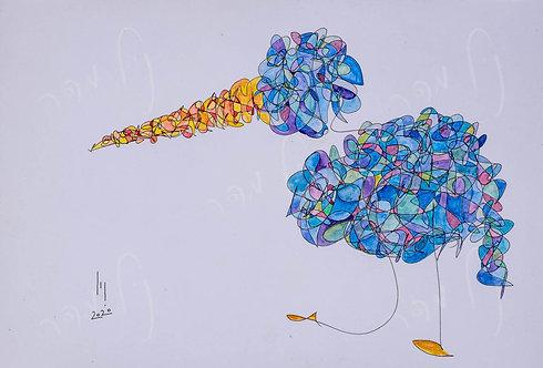 ציפור פוסעת