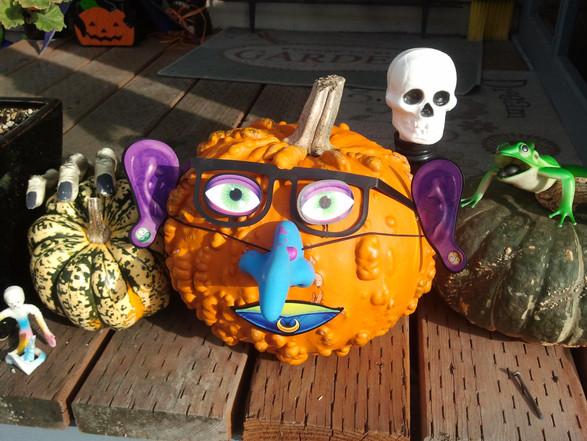 Pumpkin nerd and friends, 2011