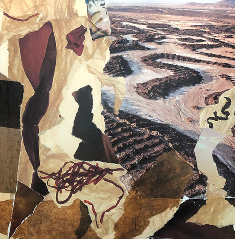 Textured landscape, 2019