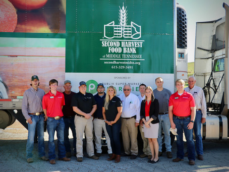 Tennessee Cattlemen's Association and Industry Partners Donate Beef to Second Harvest Food Bank