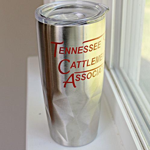 TCA Silver Tumbler Mug - 20 oz.