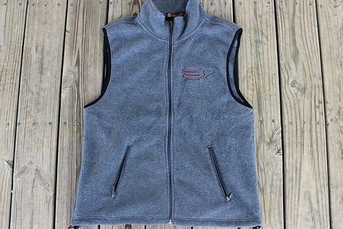 TCA Gray Fleece Vest - Men's