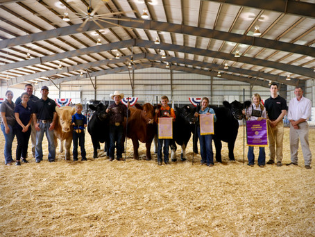 Tennessee Cattlemen's Assoc. and Industry Partners Support Youth & Donate Beef to Food Bank