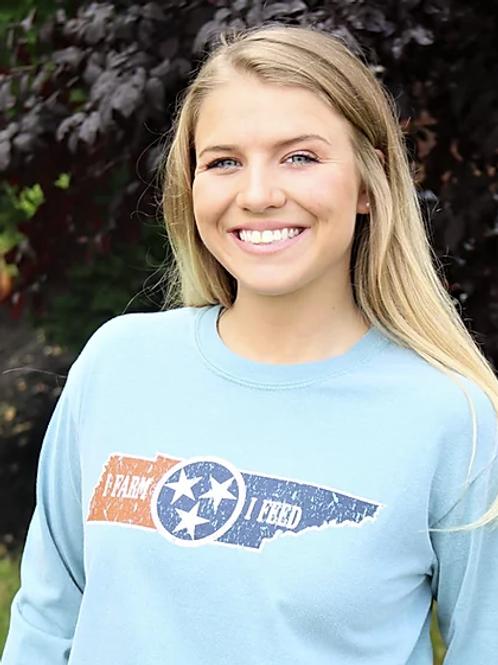 Adult Long Sleeve Tristar Shirt