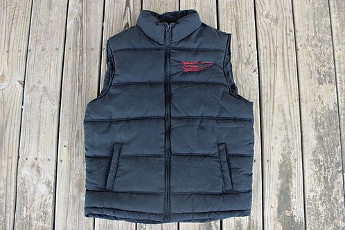Men's Black Puffer Vest