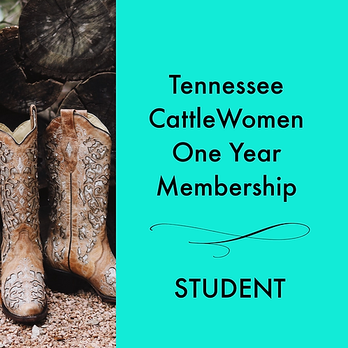 Tennessee CattleWomen's Membership - Student Rate