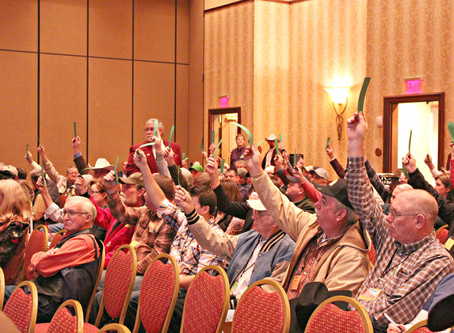 NOTICE: Tennessee Cattlemen's Association Annual Delegate Session with Resolution Voting