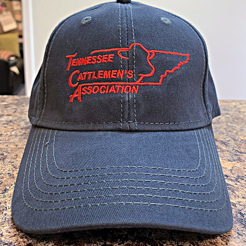 TCA Baseball Cap - Navy and Red