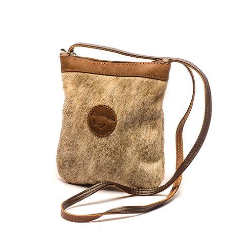 Small Cowhide Crossbody bag. MORR 01