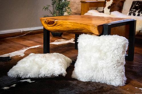 Sheepskin cushion. ALM 02