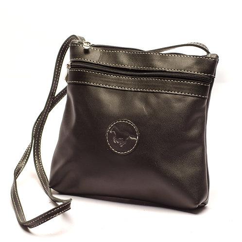 Big Black Crossbody bag. MORR 09