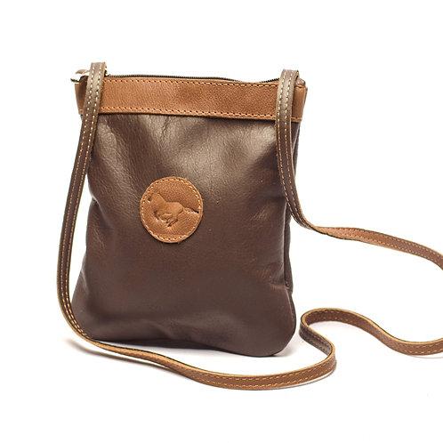 Small Brown Crossbody bag. MORR 04