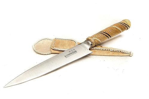 Honeycomb' hand woven knife. CUCH 25
