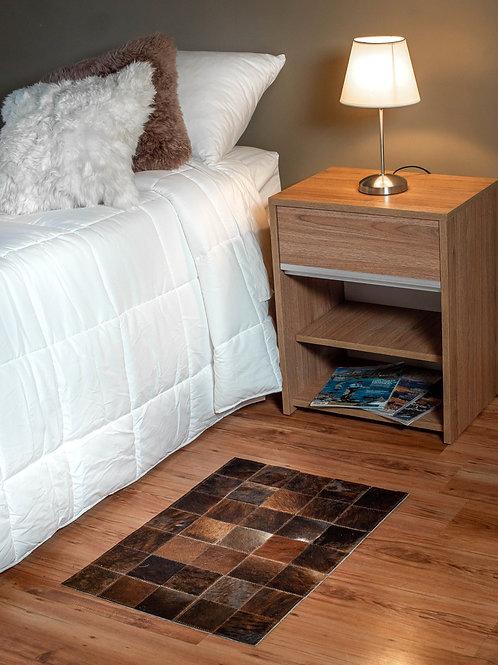 Cowhide Patchwork carpet. BAJ 02