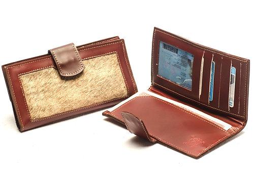 "Ladies"" Cowhide"" wallet, double-folder design . BILL 02"
