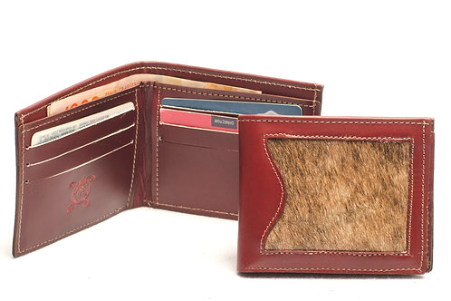 """Men's wallet """"Cowhide"""" with double card holder. BILL 54"""