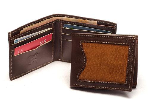 "Men's  ""Capybara"" wallet with double card slot. BILL 50"