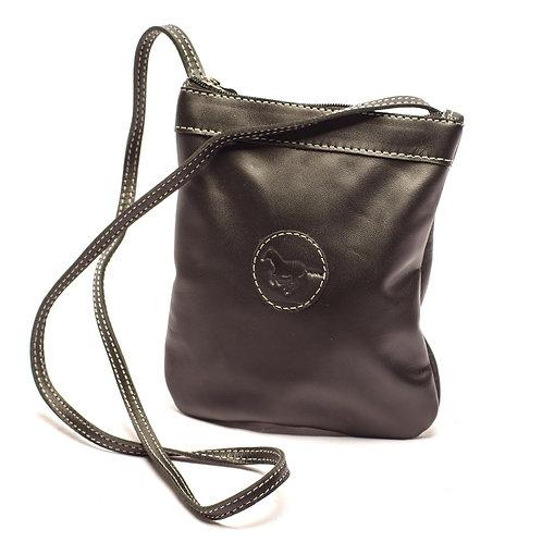 Small Black Crossbody bag. MORR 07