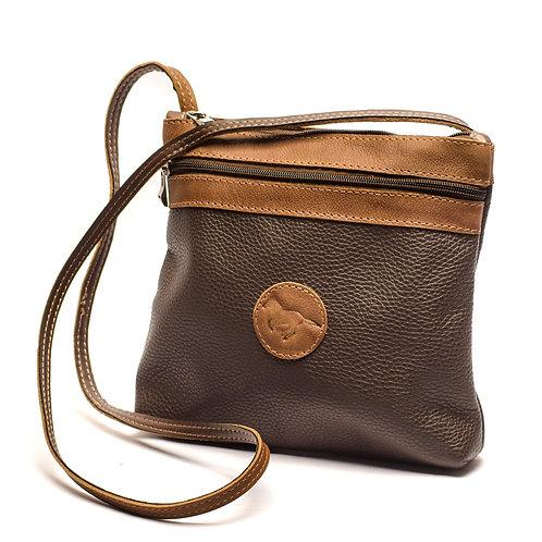 Big Brown Crossbody bag. MORR 06