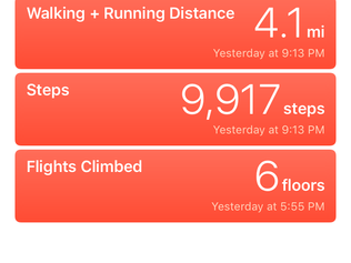 Taking a Step Back from My Pedometer