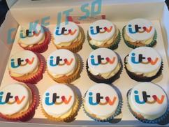 ITV corporate cupcakes.jpg