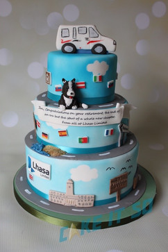 lhasa retirement corporate cake.jpg