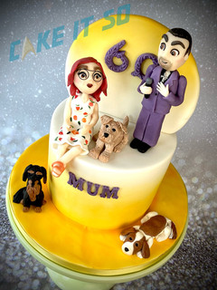 George Michael Dogs Birthday Cake