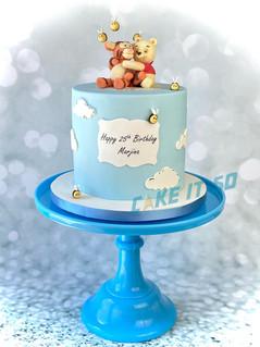 Winnie the Pooh Tigger Cake