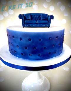 Sofa Corporate Cake
