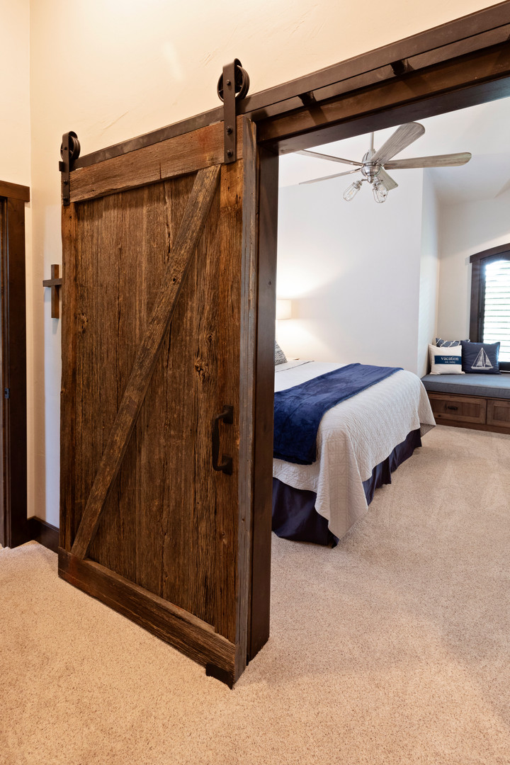 Sandpoint Lodge by Wisconsin Log Homes -