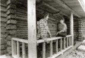 Dave & Kathy Janczak after building their first custom log home