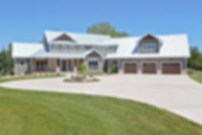WLHCH exterior custom home