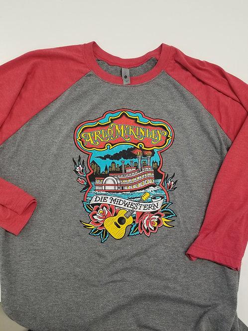 Steamboat Baseball T-shirt